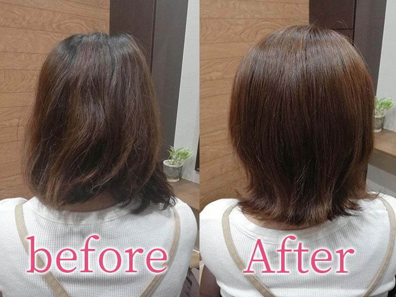 白山市の美容院(美容室)Arona Arona before&After